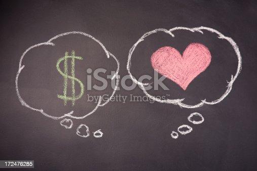 istock Love or Money 172476285