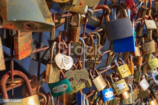 Love Padlocks , Paris, France