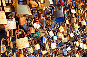 Love Padlocks, Paris, France