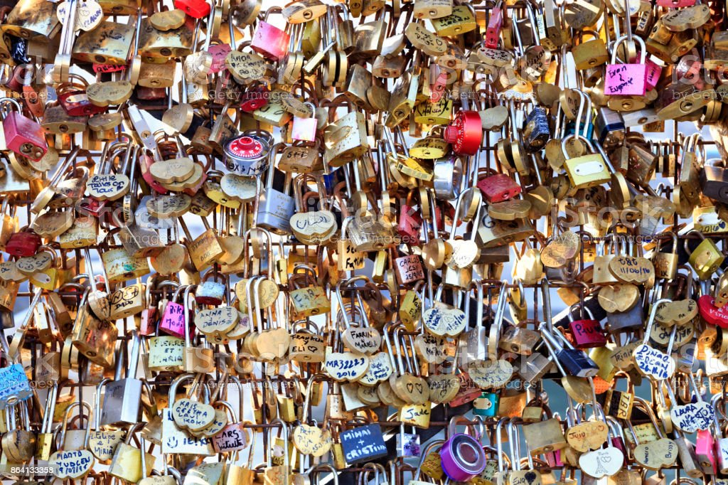 Love Padlocks royalty-free stock photo