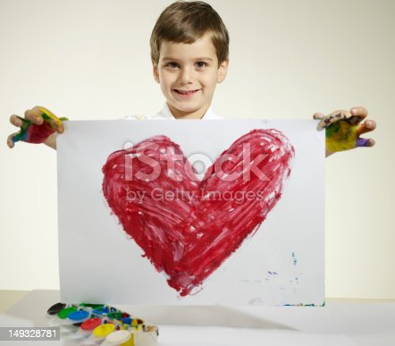 istock Love painting 149328781