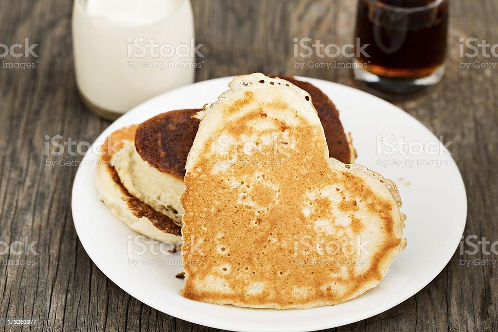 I Love Pancakes royalty-free stock photo