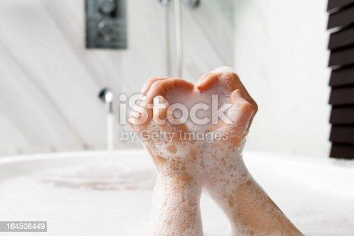 Bubble bath of love