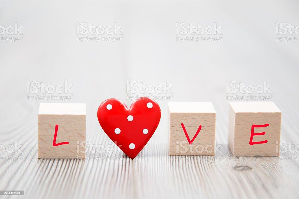 Love Love Heart 2015 Stock Photo