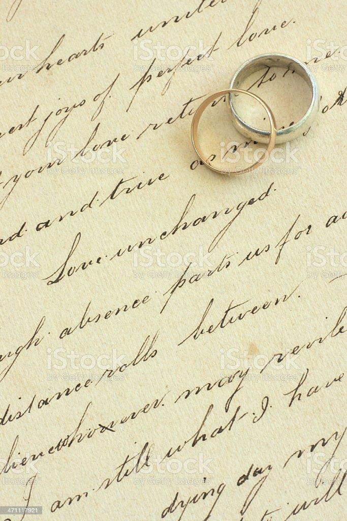love poem royalty-free stock photo
