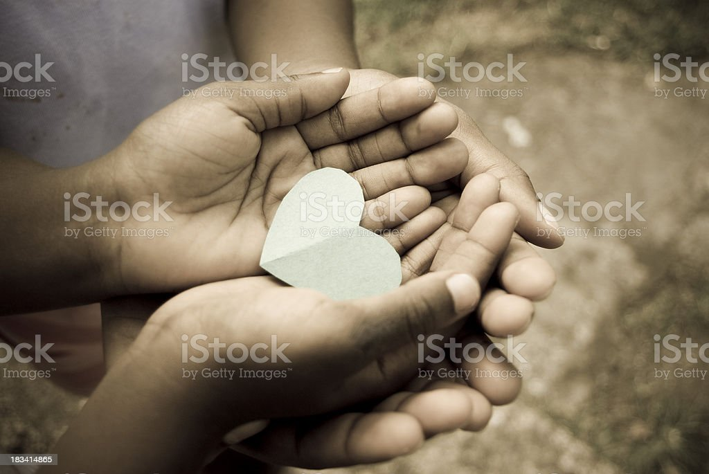 love; precious moments and matters of the heart stock photo