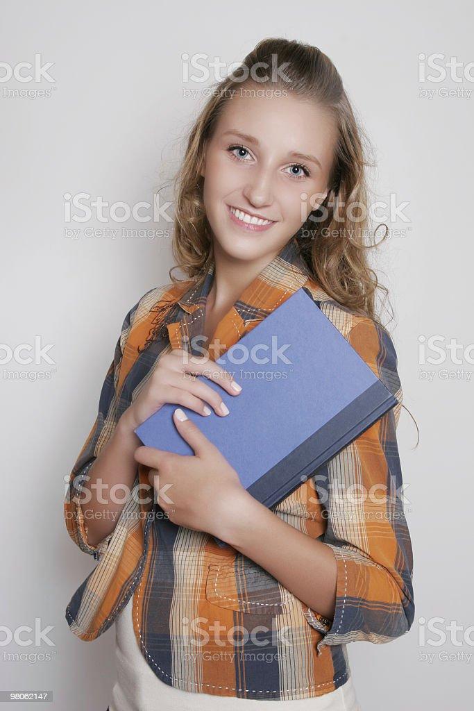 I love reading books royalty-free stock photo