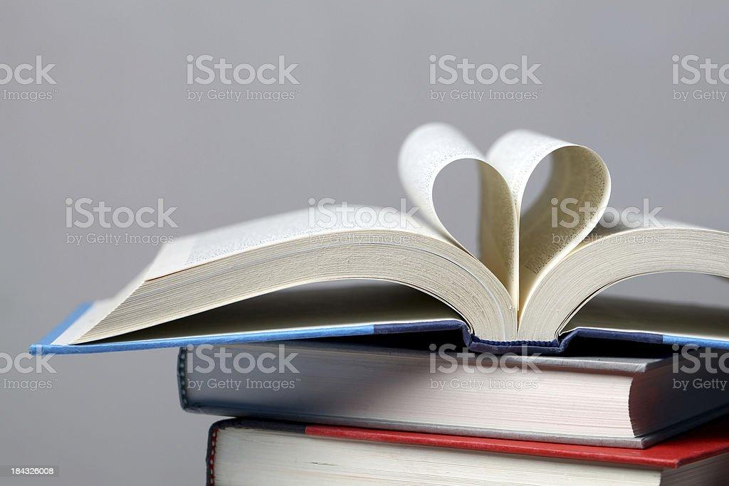 Love reading royalty-free stock photo