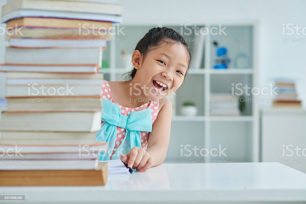 I love reading stock photo