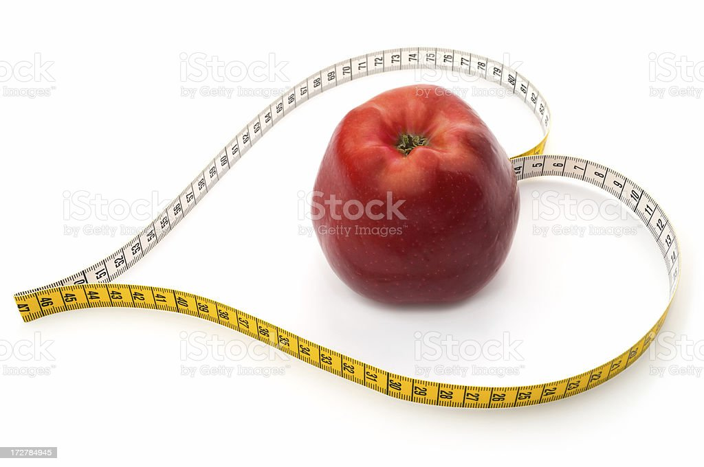 I love red apple royalty-free stock photo