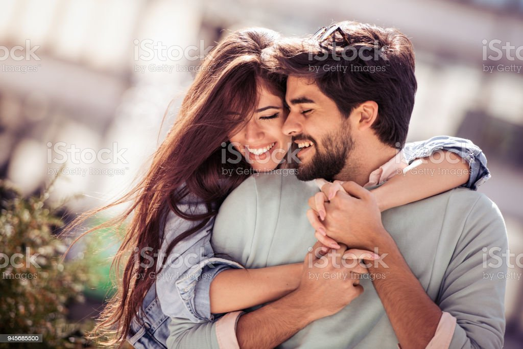 Love, relationship,fun,happiness and romance concept stock photo