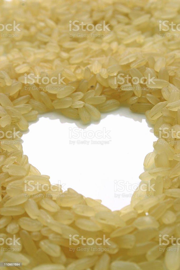 I love rice royalty-free stock photo