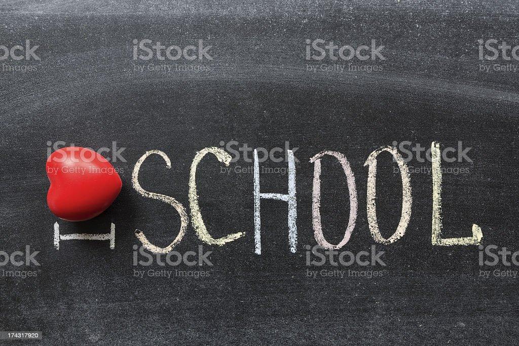 love school royalty-free stock photo