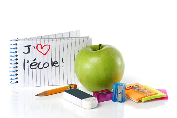 J'aime l'ecole!  ecole stock pictures, royalty-free photos & images