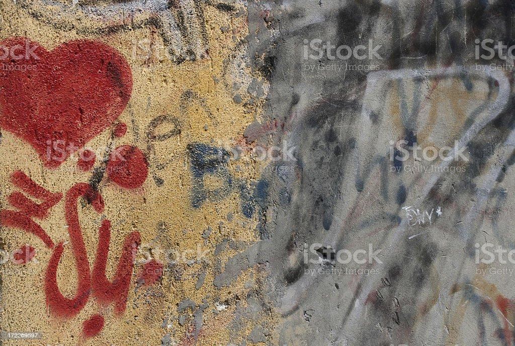 Love & Scribbling stock photo