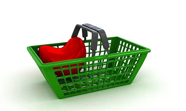 Love shopping stock photo