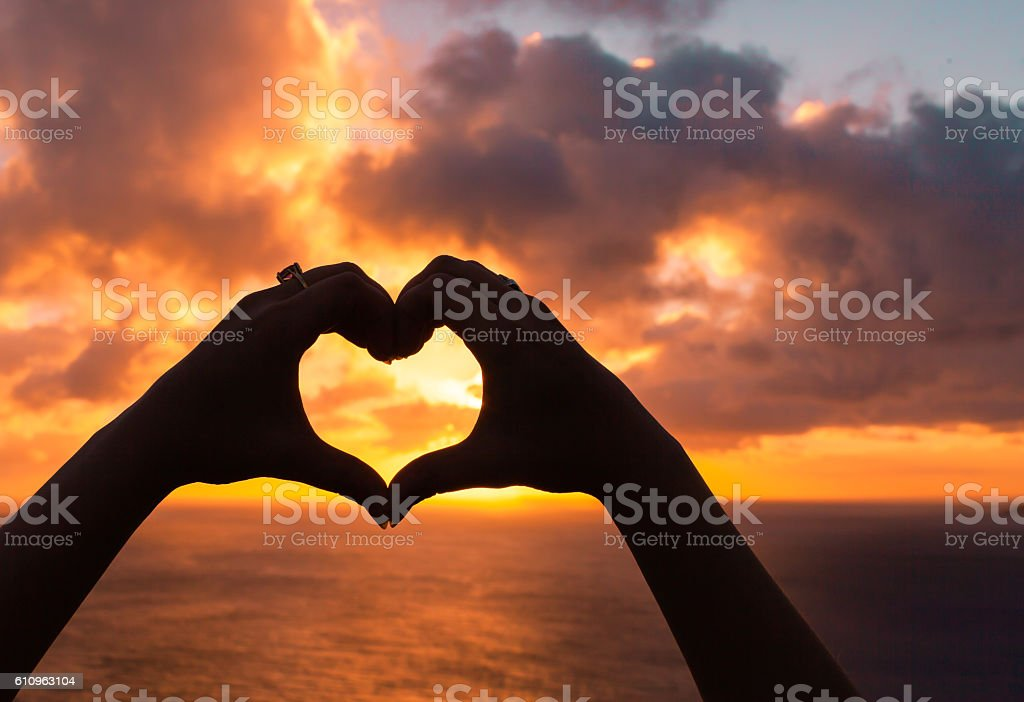 Love sign stock photo