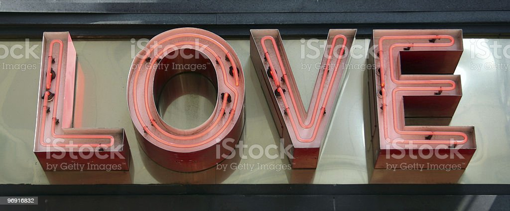 Love Sign royalty-free stock photo