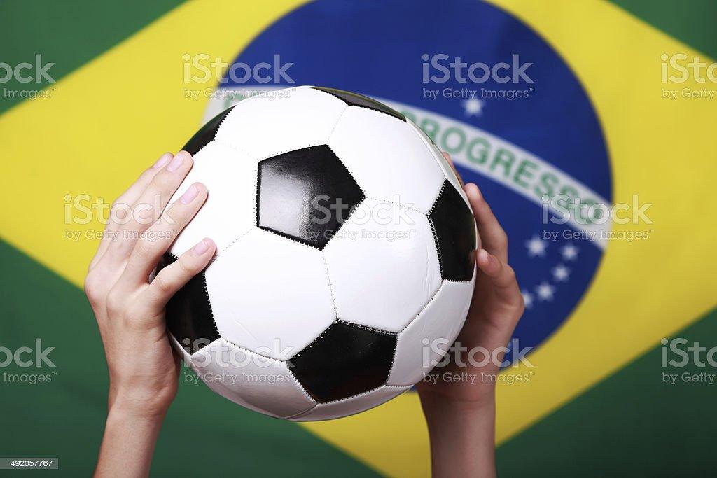 I Love Soccer royalty-free stock photo