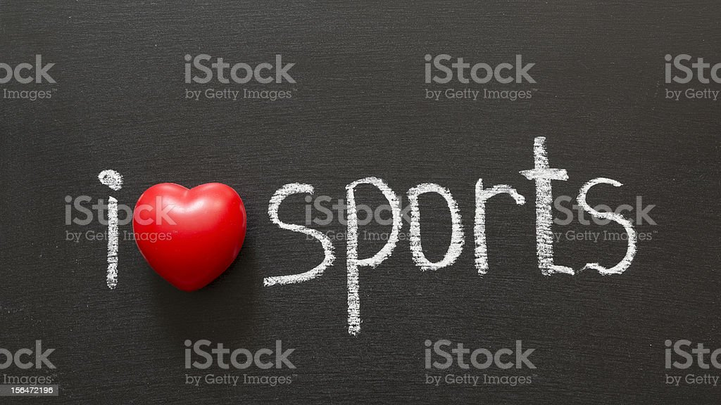 love sports royalty-free stock photo