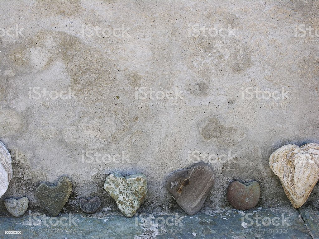 Love Stones royalty-free stock photo