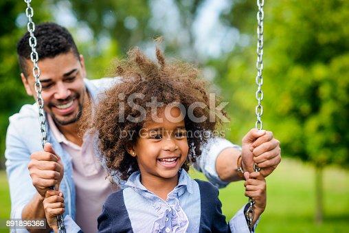 istock Love swinging. 891896366