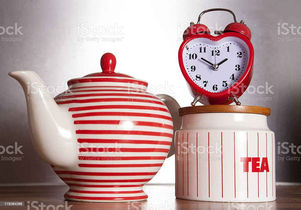 love tea time royalty-free stock photo