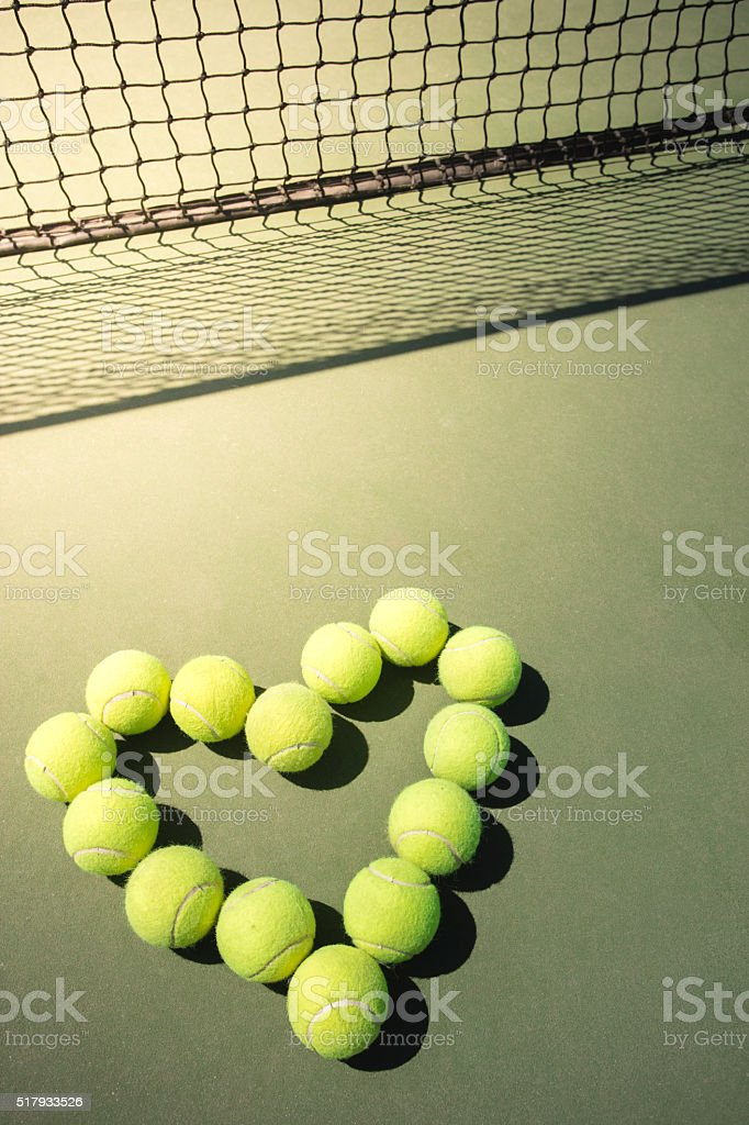 Love Tennis stock photo