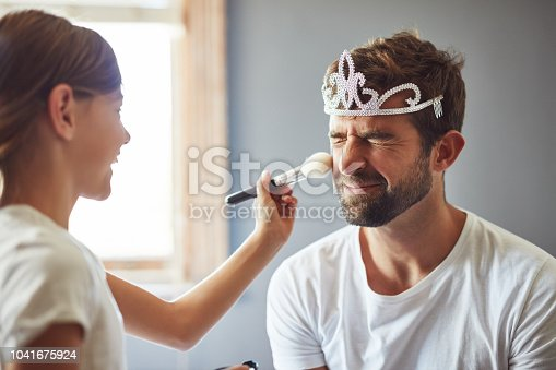 istock I love that Daddy plays dress up with me 1041675924