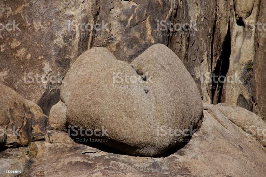 I Love The Desert stock photo