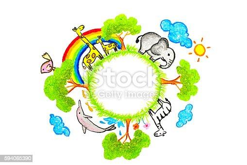 istock Love the earth concept 594065390