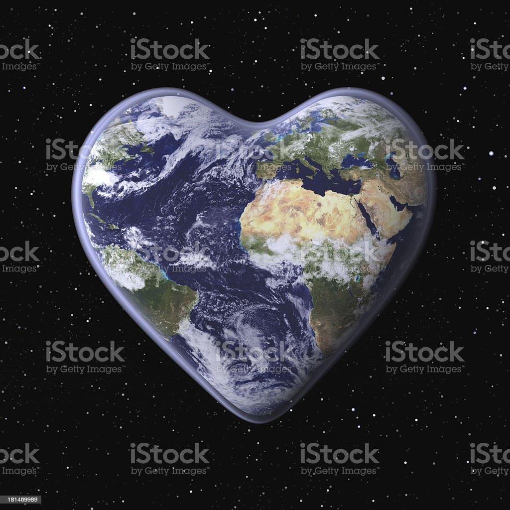 Love the Earth! stock photo