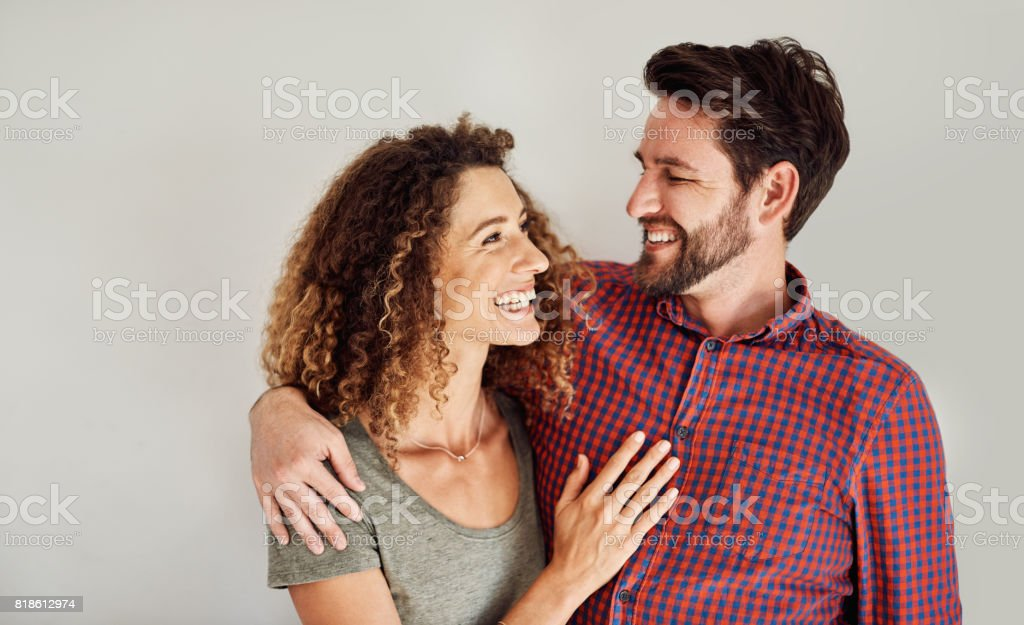 I love the look of love in your eyes stock photo
