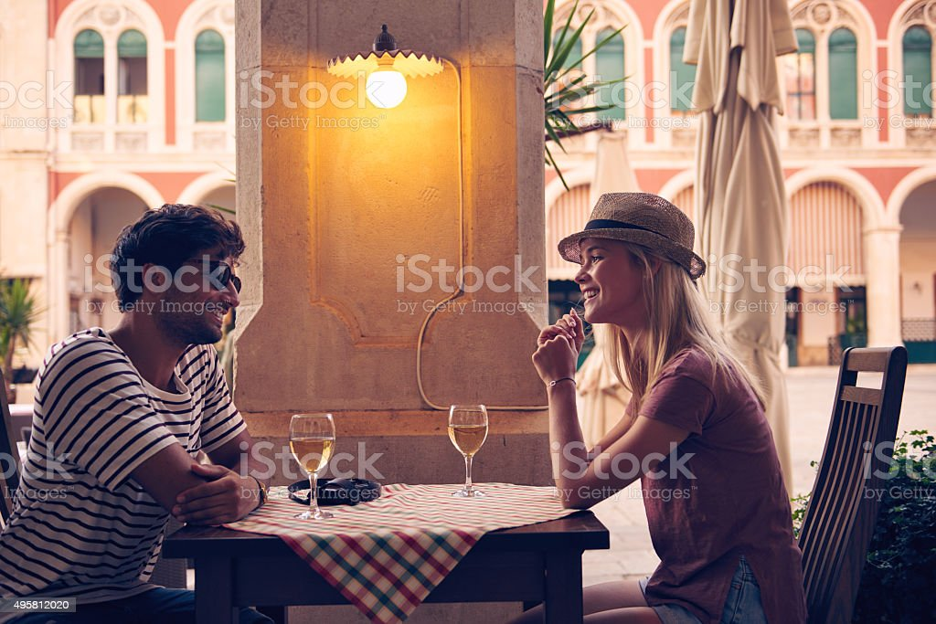 Love the wine you're with stock photo