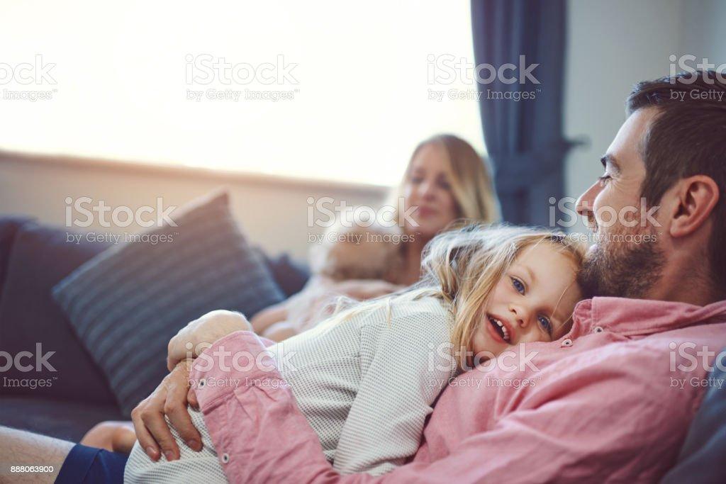 Love them, nurture them, care for them stock photo
