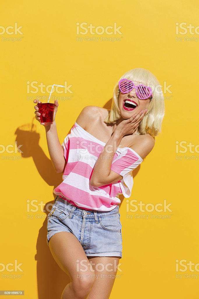 I love this cold drink stock photo