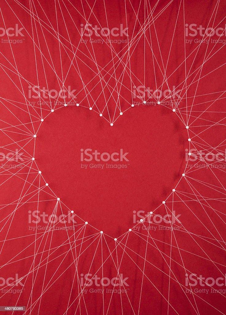 Love ties stock photo