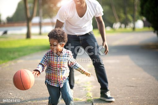 889172928istockphoto Love to play basketball 945241410