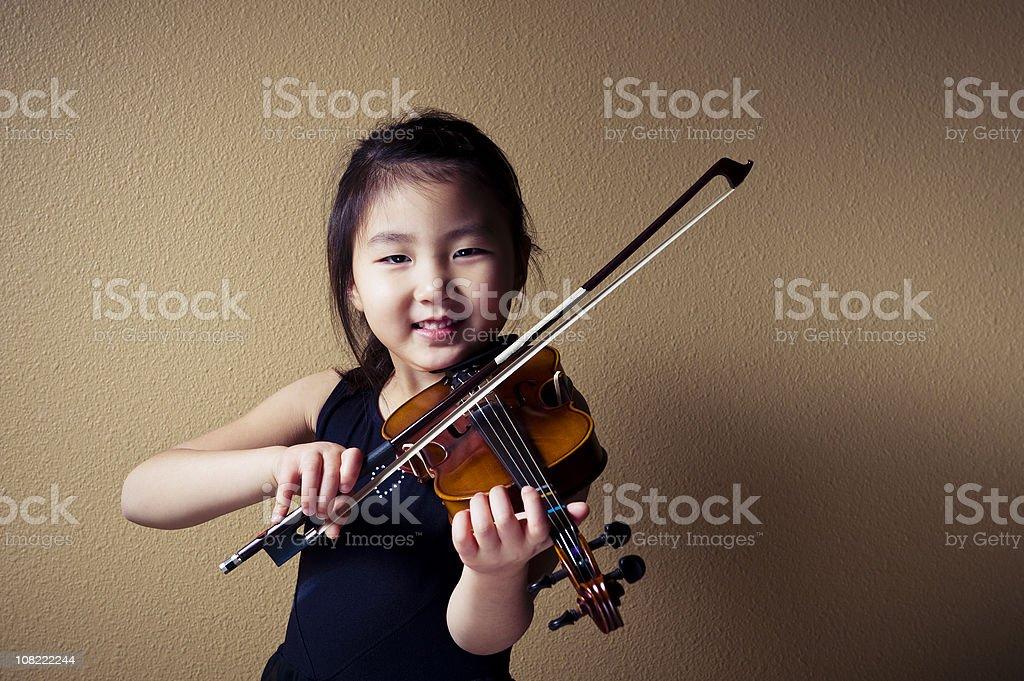 I Love to Play Violin stock photo