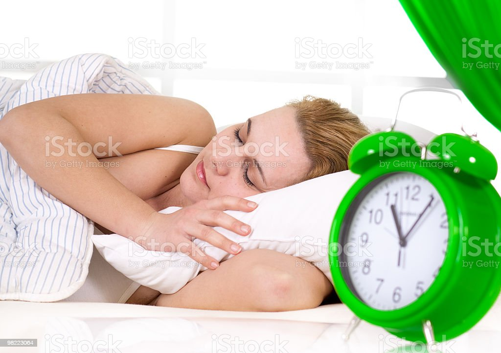 Love to sleep royalty-free stock photo