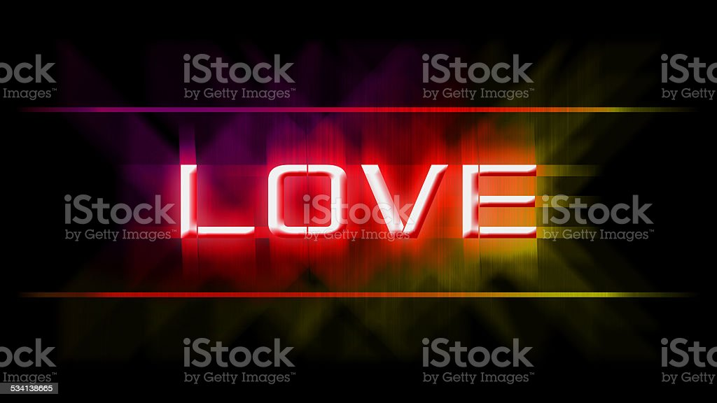 love wallpaper stock photo