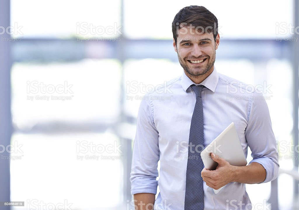 Love what you do and success will follow naturally stock photo