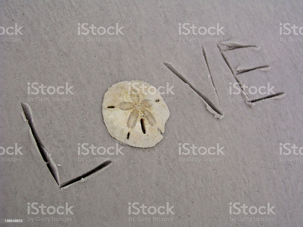Love with star royalty-free stock photo