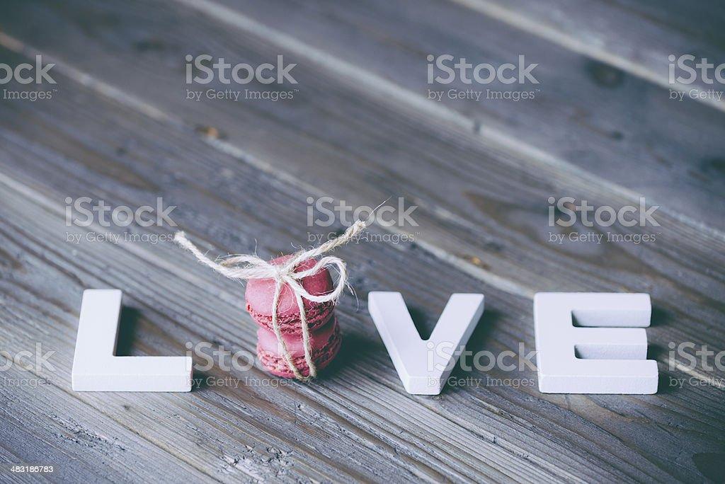 Love Wort und Macarons – Foto
