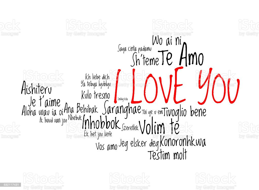 Love words i love you in different languages of theworld stock photo love words i love you in different languages of theworld royalty free stock thecheapjerseys Choice Image