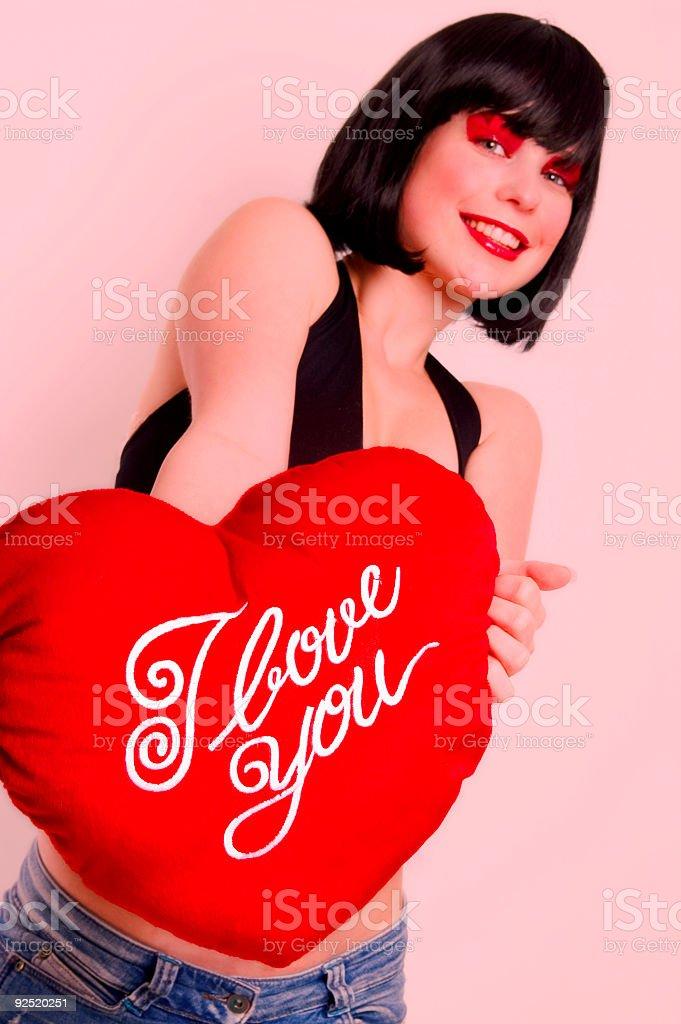 I Love You - 7 royalty-free stock photo