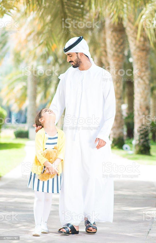I love you daddy! stock photo