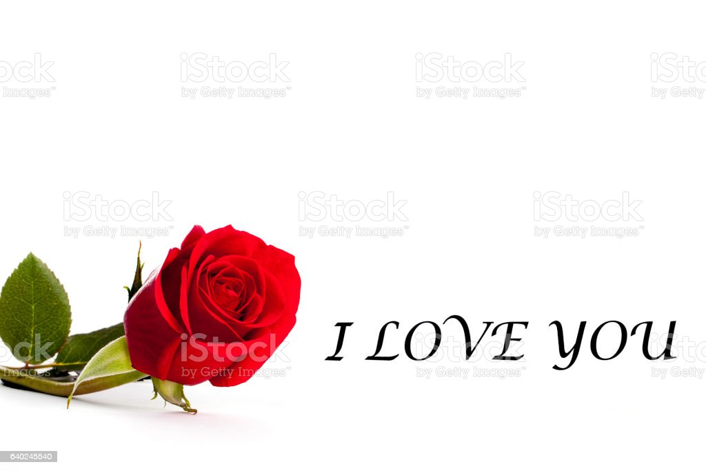 I love you gift card istock i love you gift card negle Gallery