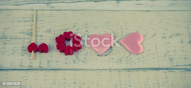 istock I love you hearts, Valentines day concept 910301628