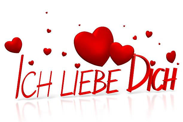 Best Ich Liebe Dich Stock Photos, Pictures & Royalty-Free